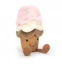 Jellycat Amuseables Ice Cream Medium Stuffed Animal