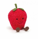 Jellycat Amuseables Strawberry Medium Stuffed Animal