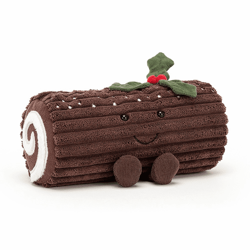 Jellycat Amuseables Yule Log Plush Toy