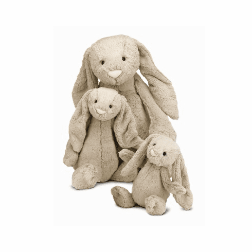 Jellycat Bashful Beige Bunny - Large Stuffed Animal