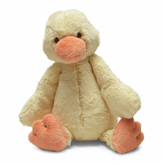 Jellycat Bashful Duckling Yellow Medium Plush Animal