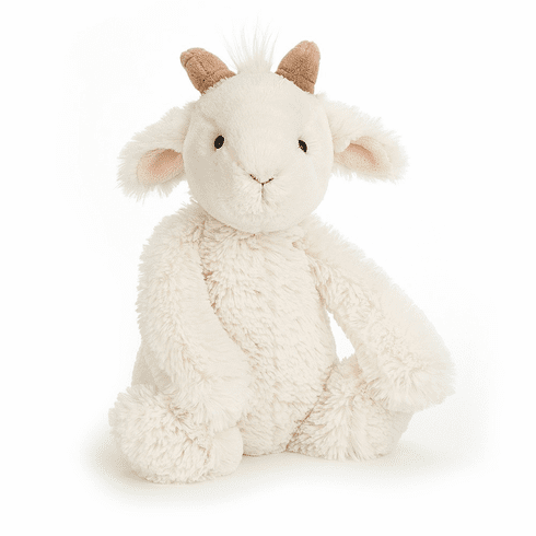 Jellycat Bashful Goat Small Stuffed Animal