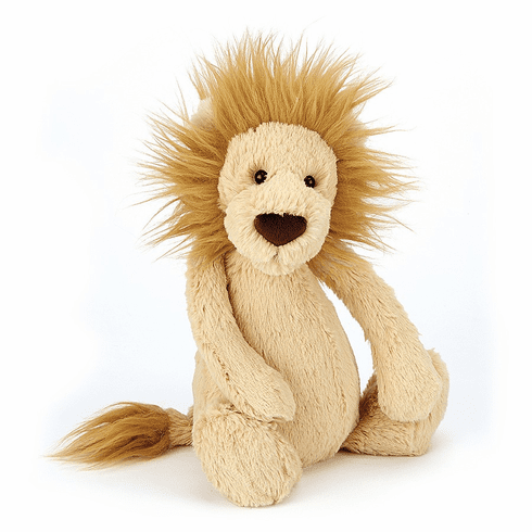 Jellycat Bashful Lion Medium Plush Toy