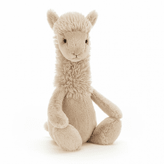 Jellycat Bashful Llama Small Stuffed Toy