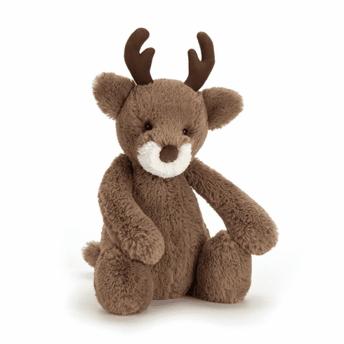 Jellycat Bashful Reindeer Medium Stuffed Toy