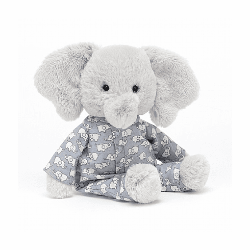 Jellycat Bedtime Elephant Small  Stuffed Toy