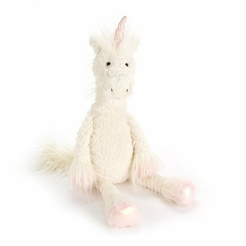 Jellycat Dainty Unicorn Small Stuffed Animal