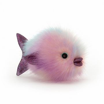 Jellycat Disco Fish Pastel Stuffed Animal