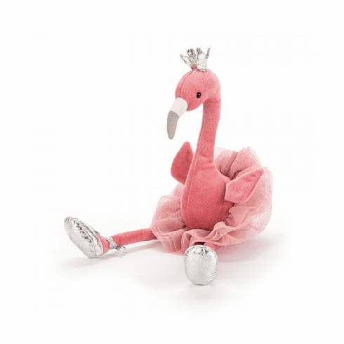 Jellycat Fancy Flamingo Plush Toy