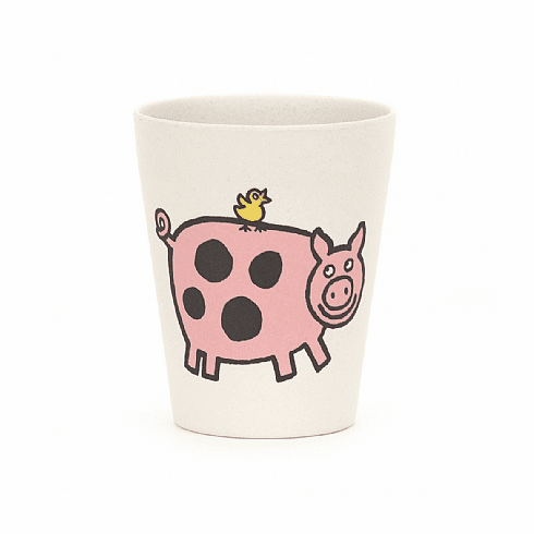 Jellycat Farm Tails Bamboo Cup