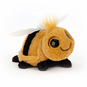 Jellycat Frizzles Bee Stuffed Animal