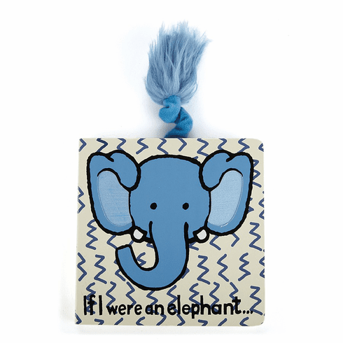 Jellycat If I were an Elephant Revised Book