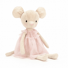 Jellycat Jolie Mouse Stuffed Animal