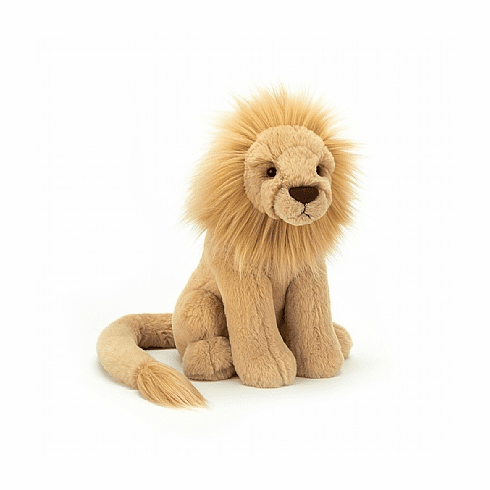 Jellycat Leonardo Lion Medium Stuffed Toy