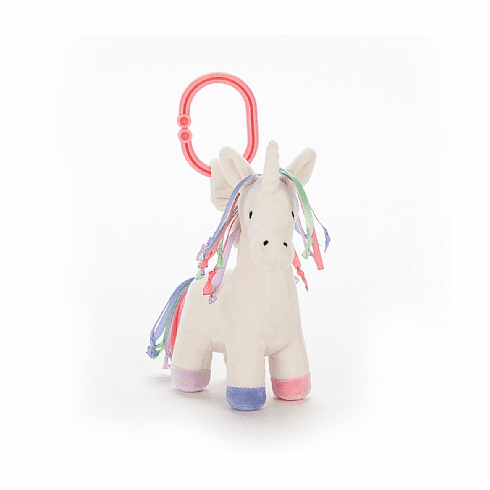 Jellycat Lollopylou Unicorn Jitter Baby Toy