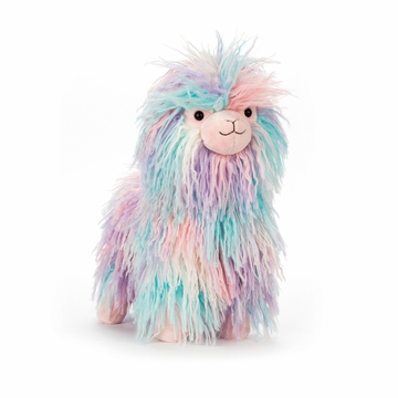 Jellycat Lovely Llama Stuffed Toy