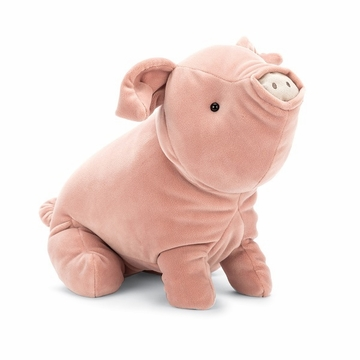 Jellycat Mellow Mallow Pig Stuffed Animal
