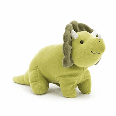 Jellycat Mellow Mallow Triceratops Small Stuffed Toy