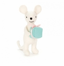 Jellycat Mini Messenger Mouse Plush Toy