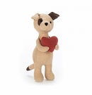 Jellycat Mini Messenger Puppy Plush Toy