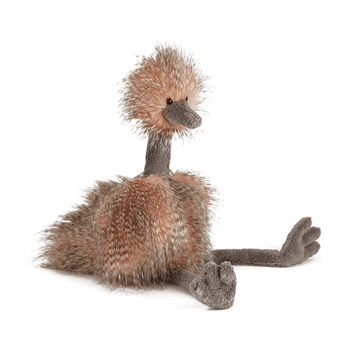 Jellycat Odette Ostrich Medium (Mad Pets) Plush Animal