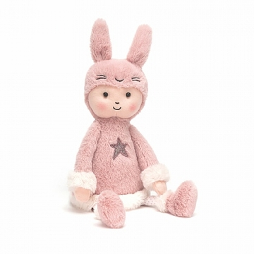 Jellycat Perkies Bunny Hop Doll Stuffed Animal