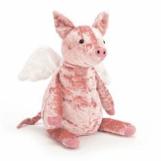 Jellycat Piggy Might Fly Stuffed Toy