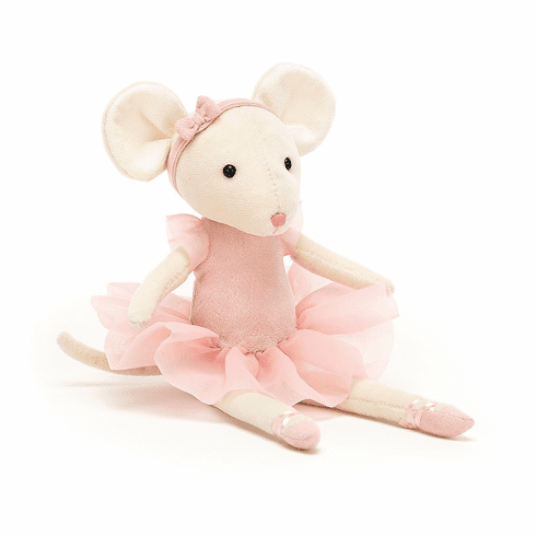 Jellycat Pirouette Mouse Candy Plush Toy