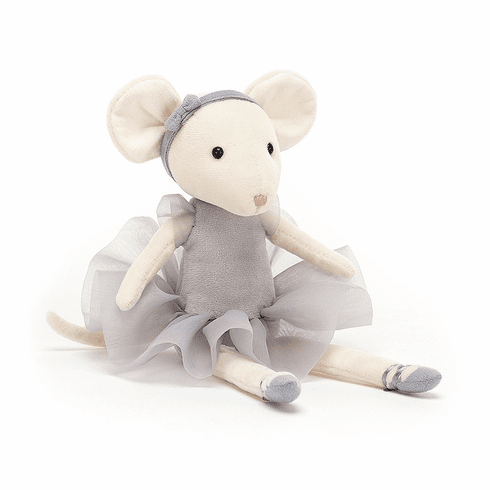 Jellycat Pirouette Mouse Pebble Plush Toy
