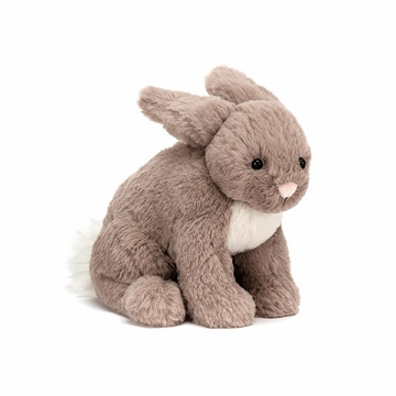 Jellycat Riley Rabbit Beige Small Stuffed Animal