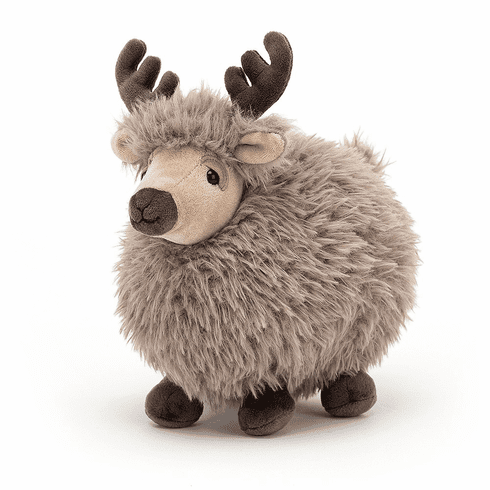 Jellycat Rolbie Reindeer Small Plush Toy