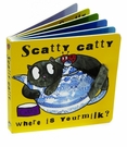 Jellycat Scatty Catty Children's Book