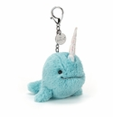 Jellycat Seas The Day Aqua Bag Charm