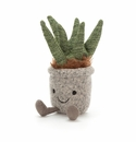 Jellycat Silly Succulent Aloe Stuffed Toy