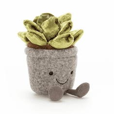 Jellycat Silly Succulent Jade Stuffed Toy