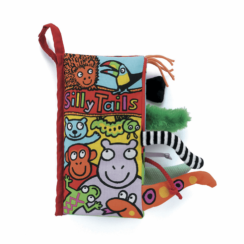 Jellycat Silly Tails Book