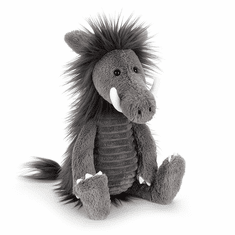 Jellycat Snagglebaggle Walter Warthog Gray Stuffed Animal