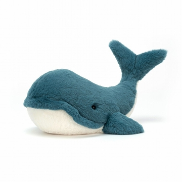 Jellycat Wally Whale Large Stuffed Animal