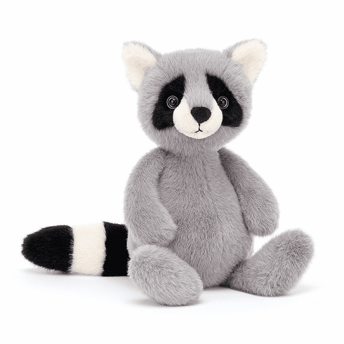 Jellycat Whispit Raccoon Plush Toy