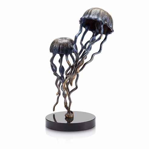 Jellyfish Pair Sculpture by SPI Home