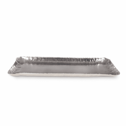 "Julia Knight Cascade 17"" Rectangle Tray Frosted"