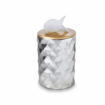 Julia Knight Cat Treat Canister Toffee