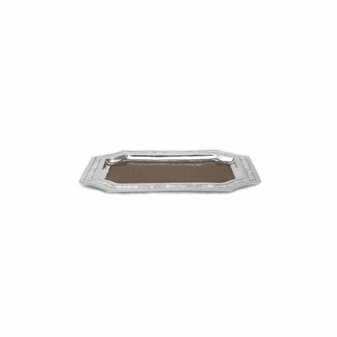 "Julia Knight Classic 20"" Octagonal Tray - Toffee"