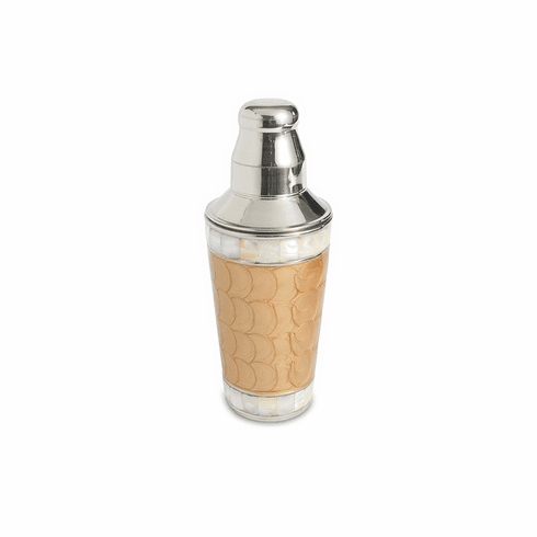 """Julia Knight Classic 9.25"""" Cocktail Shaker Toffee"""