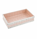 """Julia Knight Classic 9"""" Guest Towel Tray Pink Ice"""