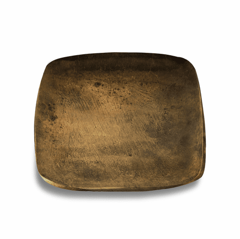 "Julia Knight Eclipse 12"" Stackable Square Tray Bronze"