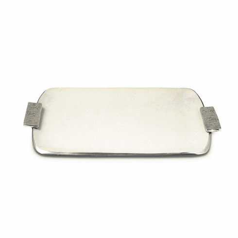 """Julia Knight Eclipse 21"""" Rectangular Tray with Handles Cloud"""