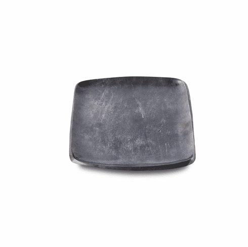 """Julia Knight Eclipse 9"""" Stackable Square Tray Steel Blue"""