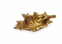 Julia Knight Oak Leaf 6� Petite Bowl Gold