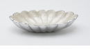 "Julia Knight Peony 8"" Oval Bowl - Snow"